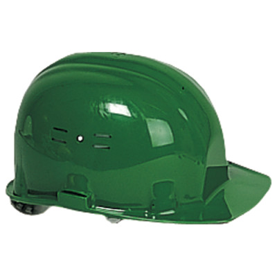 Casque de chantier vert (EN397) EARLINE-65102