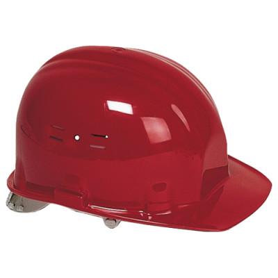 Casque de chantier rouge (EN397) EARLINE-65105