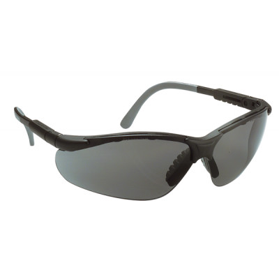 Lunettes de sécurité, Monture noire MIRALUX - Oculaire teinté -LUX OPTICAL