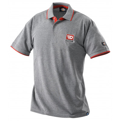 Polo gris 100 % coton - Facom | VP.POLOGR-SPB