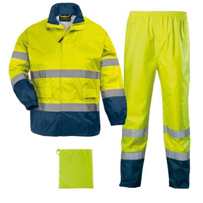 HI WAY Rainsuit hi-viz jaune/marine, 7HWRY Coverguard