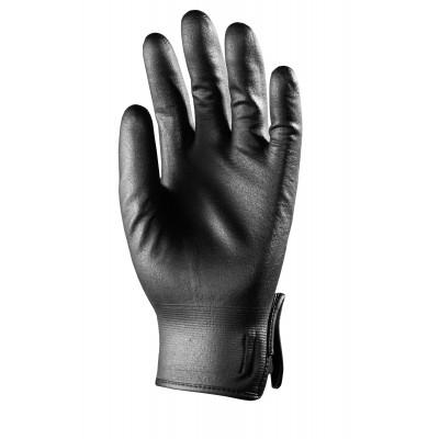 Gants EUROTRIL+ enduit Nitrile mousse - support nylon noir - Eurotechnique | 9060