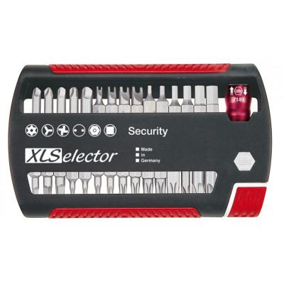 Coffret d'embouts XLSelector Standard, Security, 31 pièces WIHA