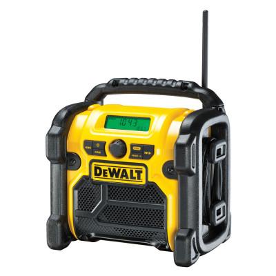 Radio de chantier compatible batterie XR 10,8 / 14,4 / 18V - Dewalt | DCR019