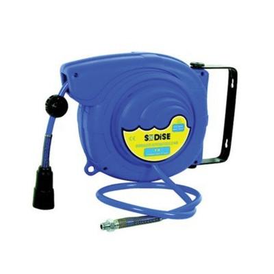 Enrouleur pneumatique automatique 26 mètres  - Tuyau 100% Pu - Sodise   09341