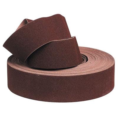 Rouleau d'atelier corindon/toile souple L25xl120mm grain 120