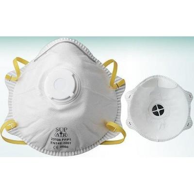 Masque FFP1 à valve Boîte de 10 SUPAIR   23106