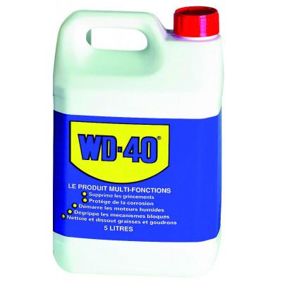 Lot de 4 bidons wd40 5l + pulvérisateur | 10250