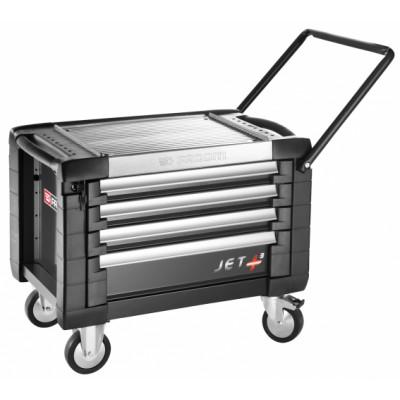 JET.CR4GM3 Facom Coffres roulant JET+ 4 tiroirs - 3 modules par tiroir