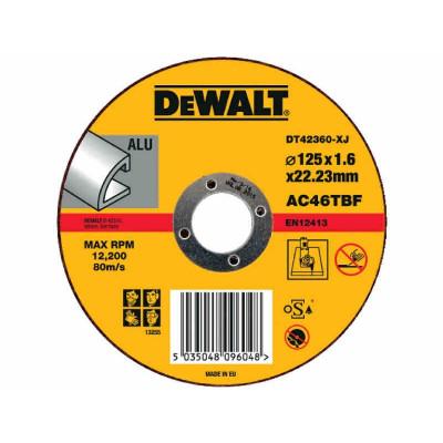Disques à ébarber l'inox 125 mm - Dewalt | DT42360