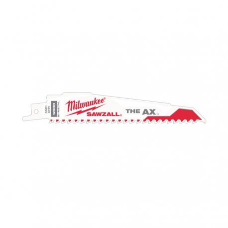 5 pcs. Milwaukee sabre Lame de scie à bois//Démontage the AX 230 MM//5 tpi