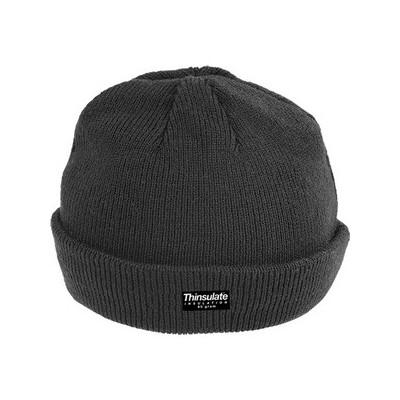Bonnet laine noir SAILOR CAP Thinsulate - intérieur doublé - COVERGUARD | 57141