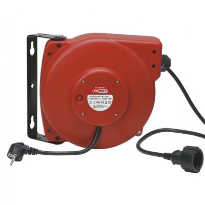 Enrouleur de câble électrique mural 3 x 2,5 mm² x 20 m - KSTOOLS | 150.4221