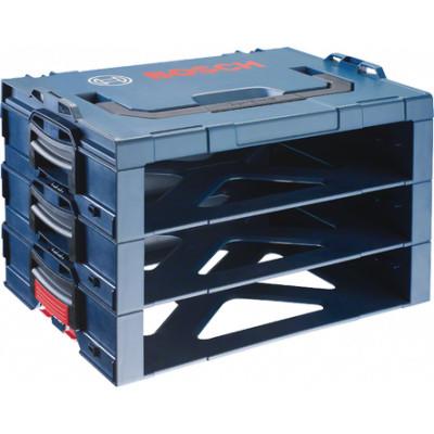 1600A001SF Système d'emmanchement Bosch Rack i-BOXX 3 étages Professional outils Bosch Bleu