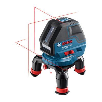 0601063802 Laser lignes Bosch GLL 3-50 Professional outils Bosch Bleu