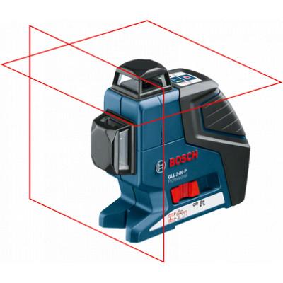 0601063204 Laser lignes Bosch GLL 2-80 P Professional outils Bosch Bleu