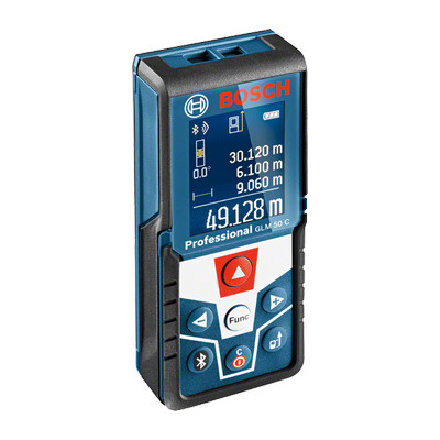 0601072C00 Télémètre laser Bosch GLM 50 C Professional outils Bosch Bleu