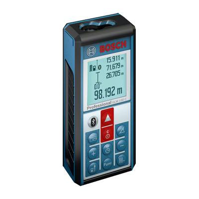 0601072700 Télémètre laser Bosch GLM 100 C Professional outils Bosch Bleu