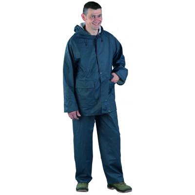 Ensemble de pluie 300 gr PU / PVC - bleu  - Coverguard | 50920