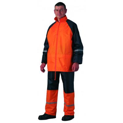 Ensemble de pluie - Rainwear orange et noir - Coverguard | 50731
