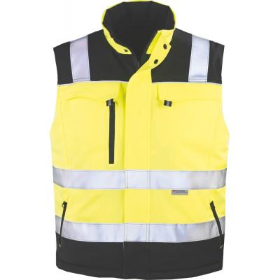 Gilet 2/1 réversible TELEPORT Hiviz - jaune et noir - Coverguard | 7TEGY