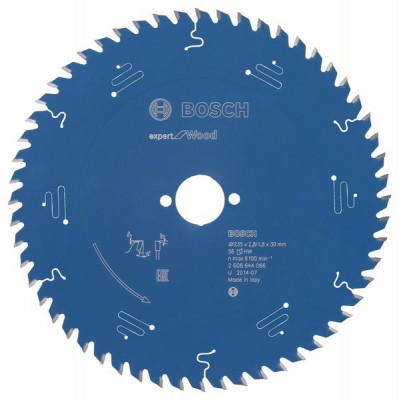 2608644066 Lame de scie circulaire Expert for Wood Accessoire Bosch pro outils