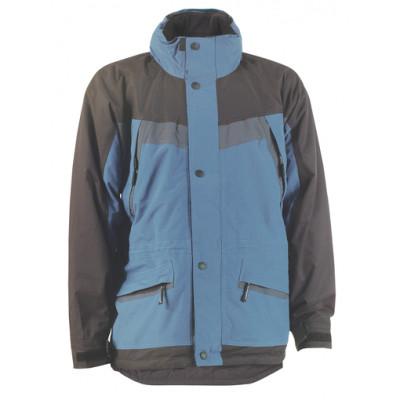 Parka Ripstop ARTIC - enduit PVC - bleu et noir - Coverguard | 5ARTI