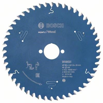 2608644049 Lame de scie circulaire Expert for Wood Accessoire Bosch pro outils