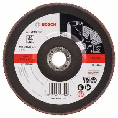 2608606739 Plateau à lamelles X571, Best for Metal Accessoire Bosch pro outils