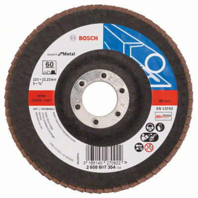 2608607354 Plateau à lamelles X551, Expert for Metal Accessoire Bosch pro outils
