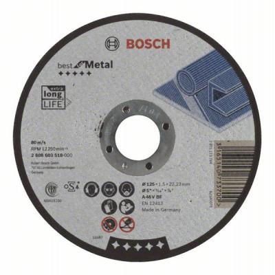 2608603518 Disque à tronçonner à moyeu plat Best for Metal Accessoire Bosch pro outils