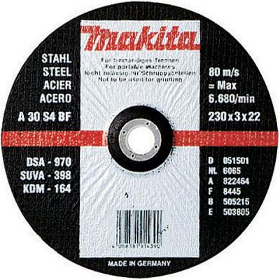 Makita A-85335 Disques à tronçonner métal pour meuleuses