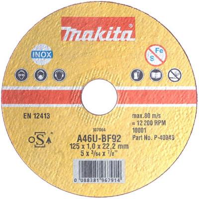 Makita B-46931 Disques à tronçonner métal et inox pour meuleuses