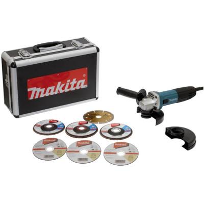Makita GA5030RSP6 Meuleuse Ø 125 mm 720 W (coffret alu)