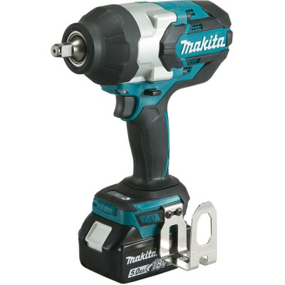 Makita DTW1002RTJ Boulonneuse à chocs 18 V Li-Ion 5 Ah 1000 Nm