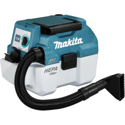 Makita DVC750LZ Aspirateur Souffleur 18 V Li-Ion 6,7 / 4,2 mbar (Produit seul)