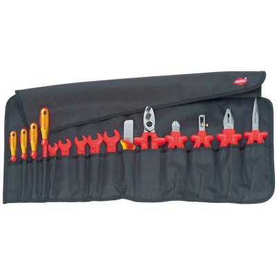 Trousse de 15 outils pour électriciens Knipex | 98 99 13