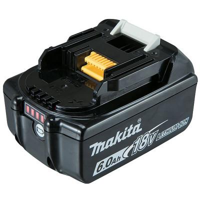 Batterie Makstar Li-Ion 18V / 6 Ah - BL1860B témoin de charge intégré Makita   197422-4