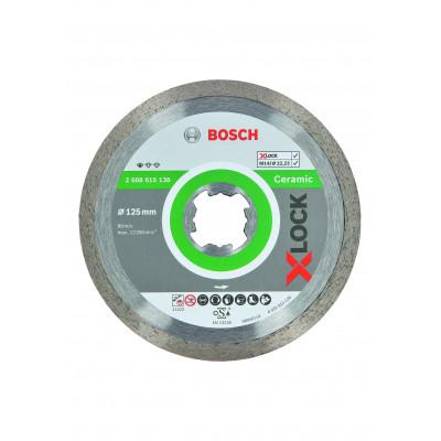 Disques à tronçonner diamantés X-LOCK CERAMIC 125x22,23  Bosch Professional | 2608615138