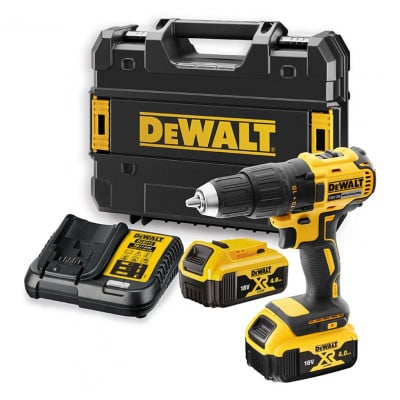 Perceuse visseuse à percussion XR 18V solo Tool Connect Dewalt | DCD797NT