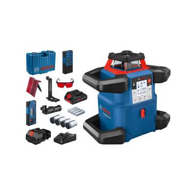 0601061B00 Laser rotatif Bosch GRL 500 HV + LR 50 Professional outils Bosch Bleu