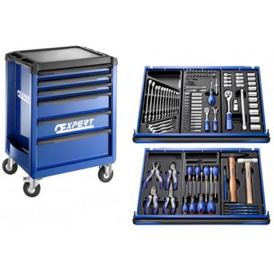 Servante 6 tiroirs 123 outils by Facom   E220310