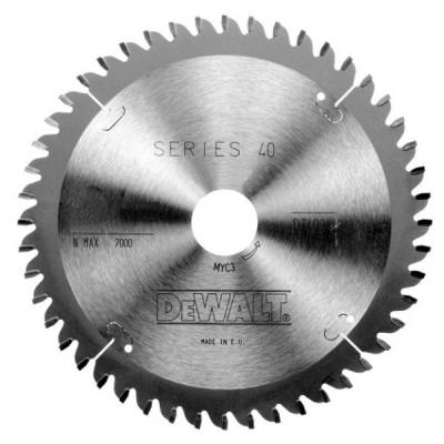 Lame pour scies circulaires portatives Extreme 165 x 20 - 24 dents - angle 25° - Dewalt | DT4026